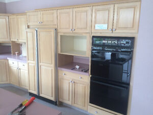 Kitchen Cabinets and Appliances for Free