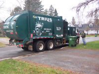 Full Time Garbage Truck Driver - Fredericton Area