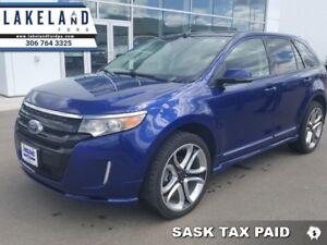2013 Ford Edge Sport  - sk tax paid - 1 Tax Unit -  Leather Seat