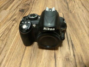 Black Nikon D3100 DSLR Body (Used)