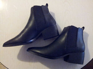 Black Chelsea Ankle Boots, Never Worn, Brand New