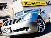 '07 INFINITI G Coupe! BOSE + Clean Carproof!! Only $125/Pmts!!