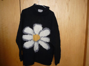 One size oversize  Daisy sweater