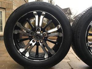 Rims and tires set of 4
