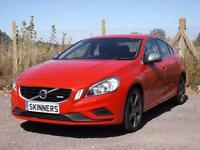 Volvo S60 Drive R-Design Ss £5670 of extras from new DIESEL AUTOMATIC 2012/61