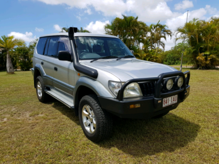 2002 Toyota Prado GXL Caboolture South Caboolture Area Preview