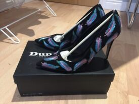 Dune Baudo Feather Shoes Size 6