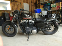 2012 Harley Davidson Forty Eight Sportster 1200