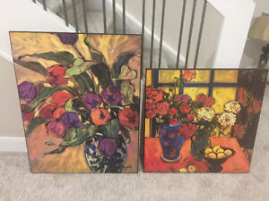 Paintings - Primary Colors