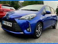 2020 Toyota Yaris 1.5 VVT-h Y20 Bi-tone E-CVT (s/s) 5dr Hatchback Petrol/Electri