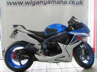 2011 SUZUKI GSXR600 L1 FITTED WITH M4 RACE CAN SEAT COWL TAIL TIDY PLUS MORE