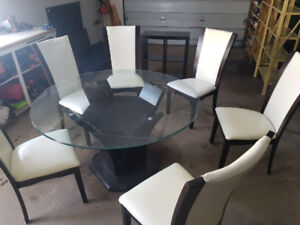 Dinning set table