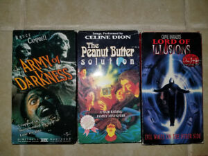 VHS Army of Darkness, Clive Barker's Lord of Illusions