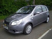 2009 (09 Reg) Chevrolet Aveo 1.2 LS