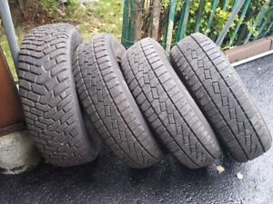4 Winter Tires for Sale P215-70 R15