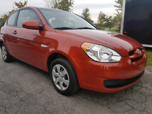 2008 HYUNDAI ACCENT GL BASE 5SPEED....CERTIFIED