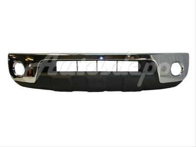For 2005-2008 Frontier Front Steel Bumper Chrome Lower Cover Valance W/ Fog Hole