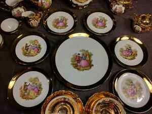 TEA SET 32 PIECES Gold Plated  Cornwall Ontario image 3