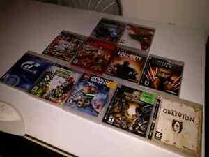 Jeux PS3 à vendre ou échange