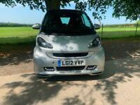 2012 smart fortwo coupe Brabus Xclusive 2dr Softouch Auto [102] COUPE Petrol Aut