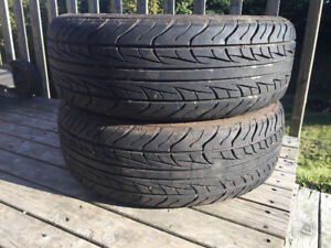 Two 195/65R15 Summer Tires