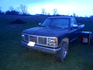 1992 gmc 2500 fix up or mud truck