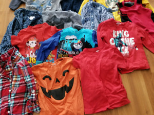 Used 22 piece used lot of 4T clothes