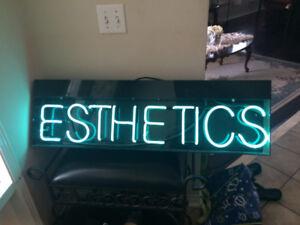 Neon Esthetics Sign for Sale