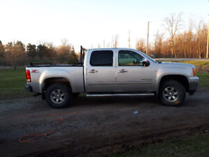 2011 GMC Sierra 1500 with 3.5 inch lift kit