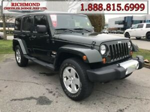 2011 Jeep Wrangler Unlimited Sahara  Extra Clean , Spare Tire Co