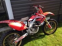 Crf250r mint condition with many upgrades