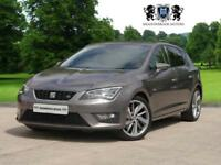 2014 14 SEAT LEON 2.0 TDI FR TECHNOLOGY 5D 184 BHP DIESEL LEATHER XENON BIG SPEC