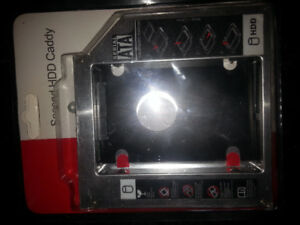 Laptop Second HDD Caddy *New