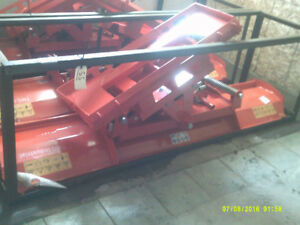 power angle blade for tractor or skid steer