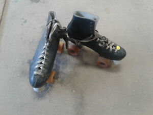 ROLLER Skates and poster