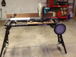 """14"""" Mikita mitre saw and stand Windsor Region Ontario image 1"""