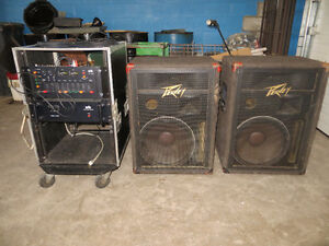 Loud WB + Peavey PA System and Yamaha mixer