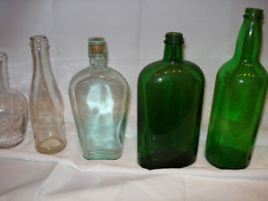 Antique bottles/Hoosier/Lustre/Depression
