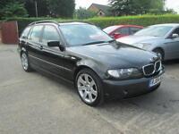 2004 04 BMW 318d SE Touring, Black CAT D 2014