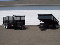 Need to rent a Dump trailer to pick up Mulch, Top Soil Ect...