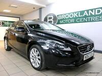 Volvo V40 1.6 D2 115 S/S SE LUX NAV [5X SERVICES, SAT NAV, LEATHER and FREE ROAD
