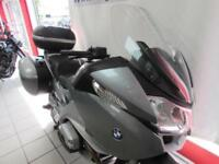 BMW R1200RT ABS WITH HEATED GRIPS, BMW PANNIERS AND GIVI V46 MONOKEY TOP CASE...