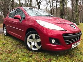 *12 MTHS WARRANTY**2009(59)PEUGEOT 207 1.6 HDI SPORTS 5DR*82K FSH*1 OWNER CAR*