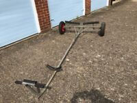 Combination Launch Trolley / Road Trailer for a Dinghy / Boat
