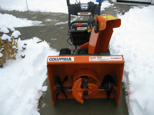 Souffleuse a neige Columbia 3 Phases  CA328HD
