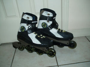 Gently Used Boys / Men Rollerblade size 7, 8, 11.5 US