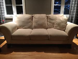 Ensemble sofa causeuse à vendre