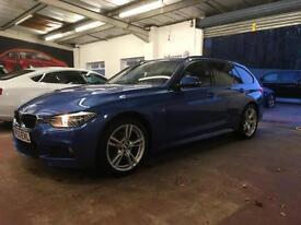 63 PLAT BMW 320d 4X4 Touring Auto xDrive M Sport+ESTORIL BLUE/NO DEPOSIT FINANCE