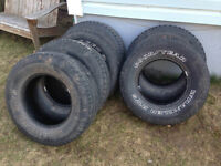 Summer tires 255/70R16 - Fits Ford Ranger or Mazda B Series
