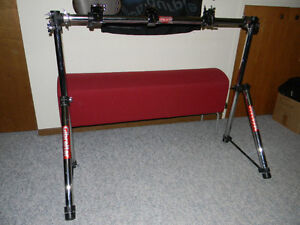 Gibraltar Rack with 3 power rack clamps